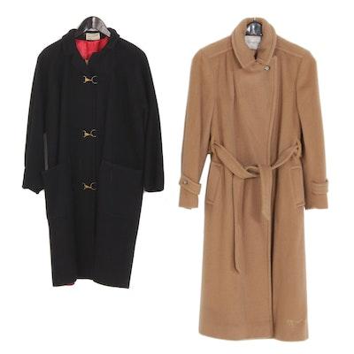 Women's Harold Grant and Evan-Picone Wool Coats, Vintage