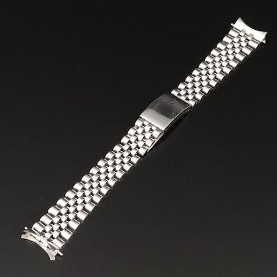 Rolex 20MM Stainless Steel Jubilee Bracelet, Vintage