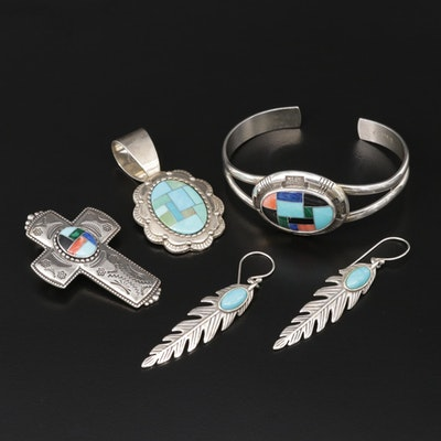 Carolyn Pollack for Relios Sterling Jewelry Including Turquoise