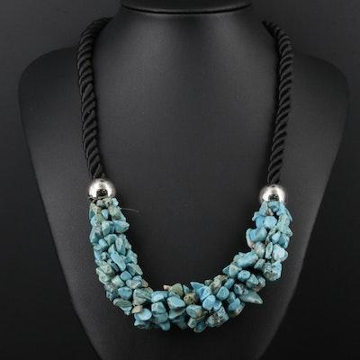 Magnesite Bead Necklace