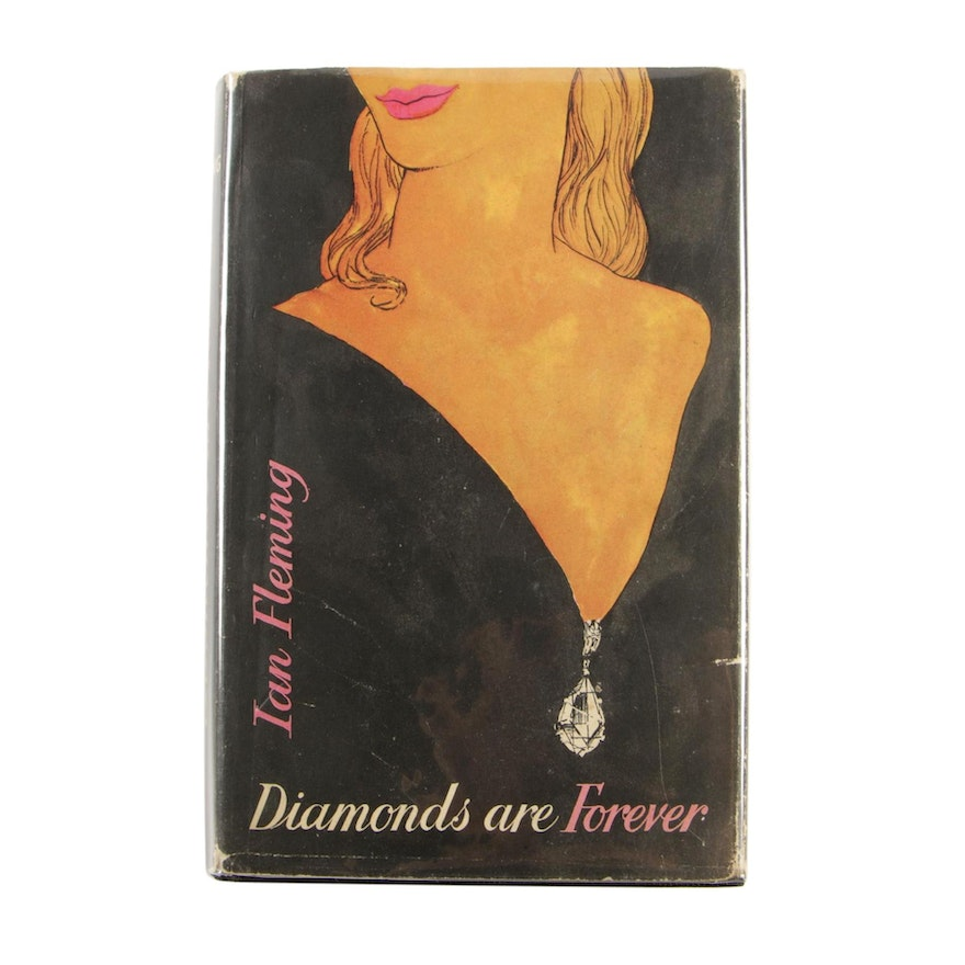 """First Edition, Second Impression """"Diamonds Are Forever"""" by Ian Fleming"""