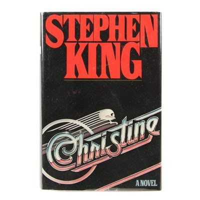 "First Edition, First State ""Christine"" by Stephen King, 1983"