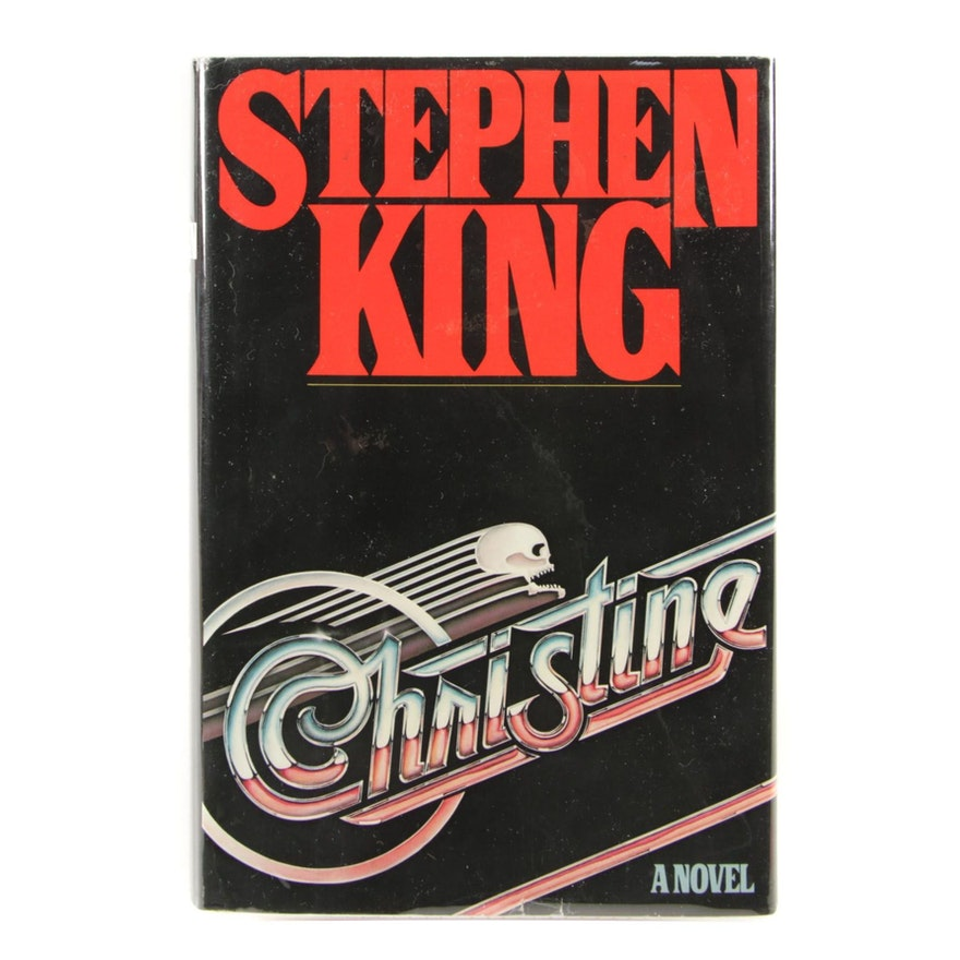 """First Edition, First State """"Christine"""" by Stephen King, 1983"""
