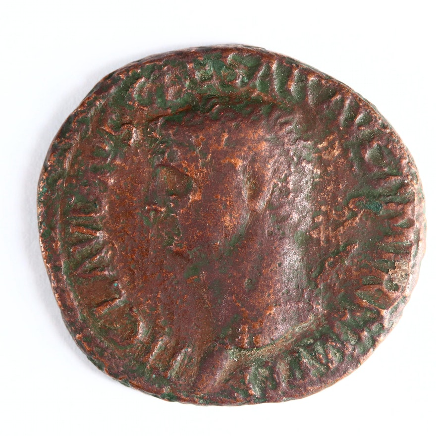 Ancient Roman Imperial AE As Coin of Claudius I, ca. 41 A.D.