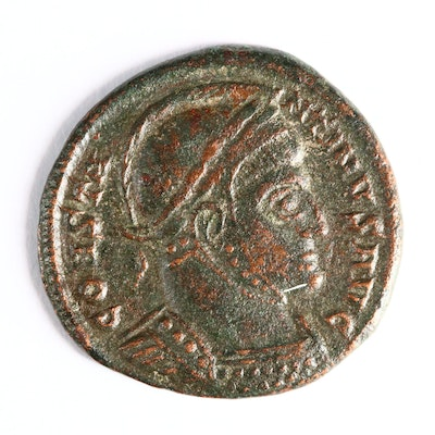 "Ancient Roman Imperial AE3 Coin of Constantine I, ""The Great"", ca. 320 A.D."