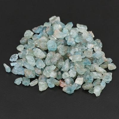 Loose 459.45 CTW Apatite Gemstones