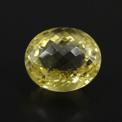 Loose 35.01 CT Citrine Gemstone