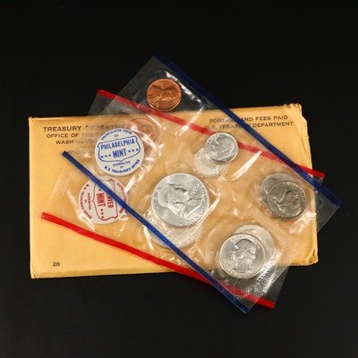 1960 U.S. Mint Silver Uncirculated Set