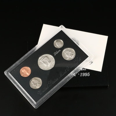 Better Date 1995 U.S. Mint Silver Proof Set