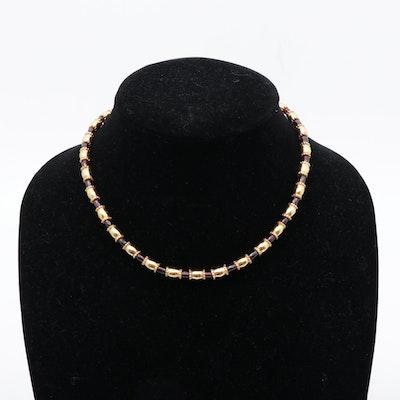 Metropolitan Museum of Art Bead Link Necklace