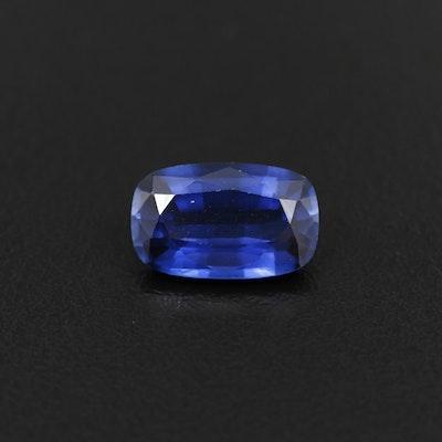 Loose 5.10 CT Sapphire Gemstone