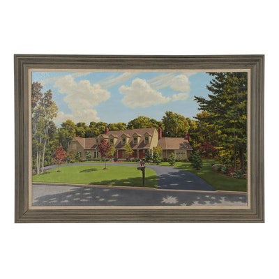 Residential Oil Painting, 1986