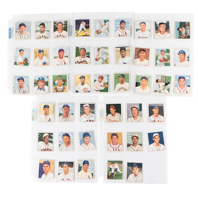 1950 Bowman Baseball Cards with Star Players