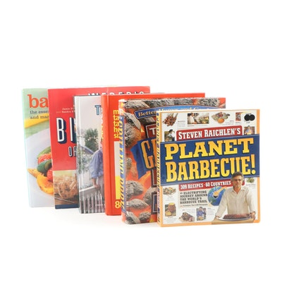 "Barbecue and Grilling Cookbooks Including ""Weber's Big Book of Grilling"""