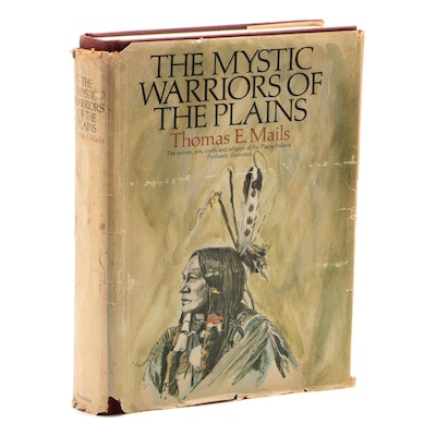"First Trade Edition ""The Mystic Warriors of the Plains"" by Thomas E. Mails, 1972"
