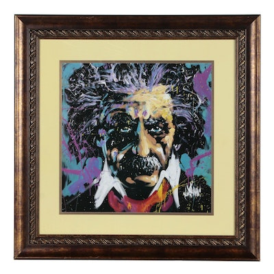 "Offset Lithograph after David Garibaldi ""E = mc2"""