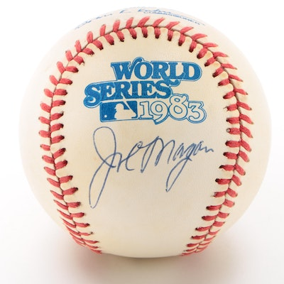 Joe Morgan Signed Baseball   COA