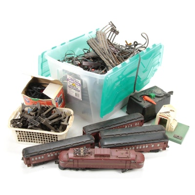 "Lionel Train Set Including 8551 Pennsylvania ""Little Joe"" Locomotive"