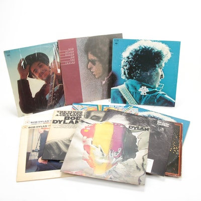 """Bob Dylan """"The Times They Are A-Changin"""" and Other Dylan Records"""