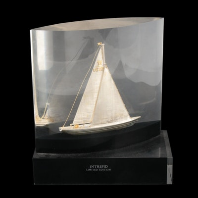 "Silver Creations Ltd. Sterling Silver ""Intrepid"" in Display"