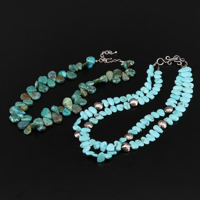 Sterling Silver Turquoise Necklaces