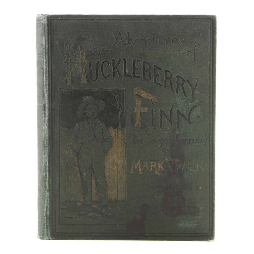 "1891 Edition ""Adventures of Huckleberry Finn"" by Mark Twain"
