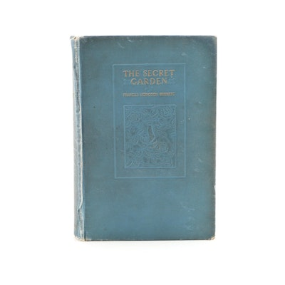 "First American Edition ""The Secret Garden"" by Frances Hodgson Burnett, 1911"