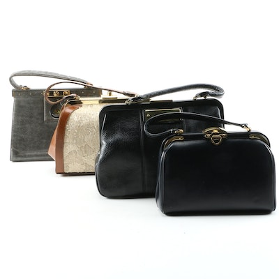Jana, Barbour, Calderon and Other Vintage Top Handle Bags