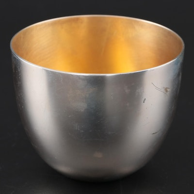 Stieff Sterling Silver Reproduction Jefferson Cup, Late 20th Century