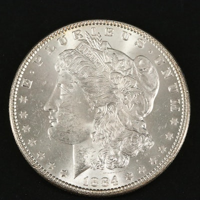 1884 Silver Morgan Dollar