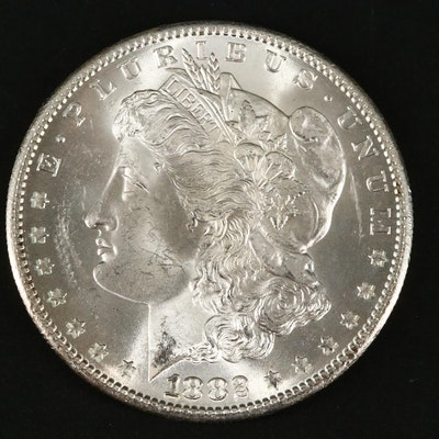1882-S Silver Morgan Dollar