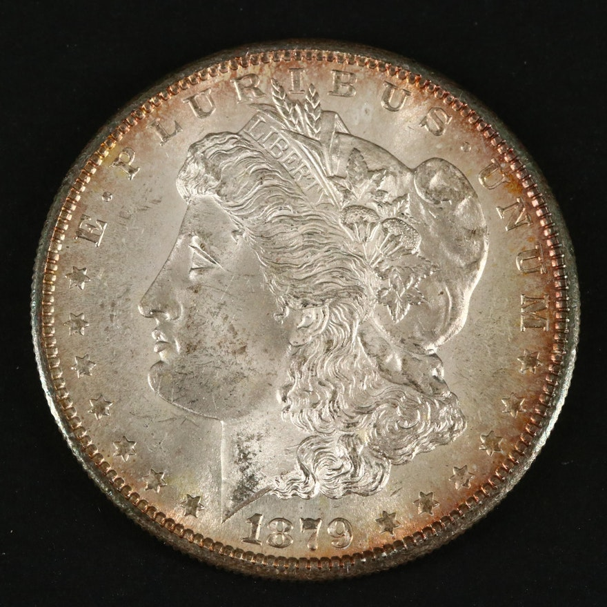 1879-S Silver Morgan Dollar
