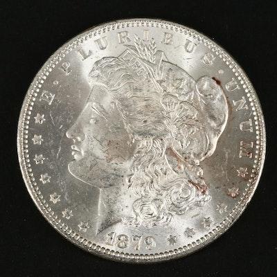 1879 Silver Morgan Dollar