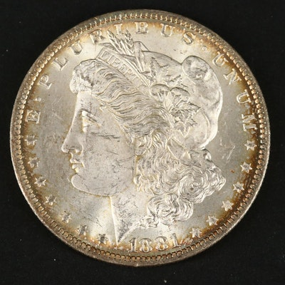 1881-O Silver Morgan Dollar