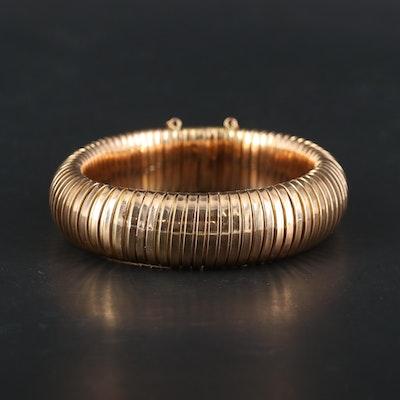 Retro 14K Rose Gold Tubogas Bracelet