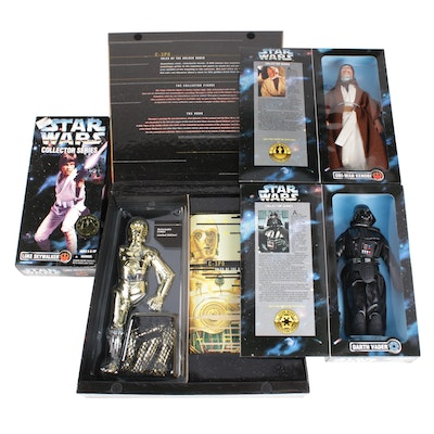 """Star Wars"" Collector's Edition Action Figures, 1990s"