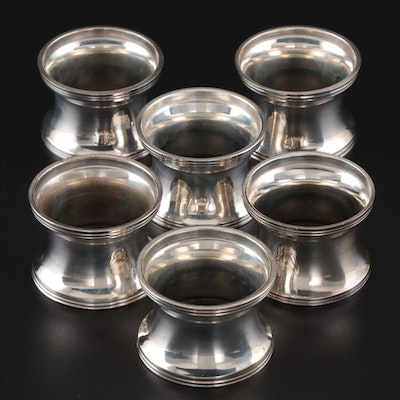Lunt Silver Plate Napkin Rings