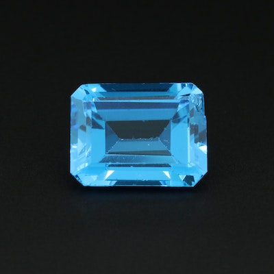 Loose 14.60 CT Topaz Gemstone