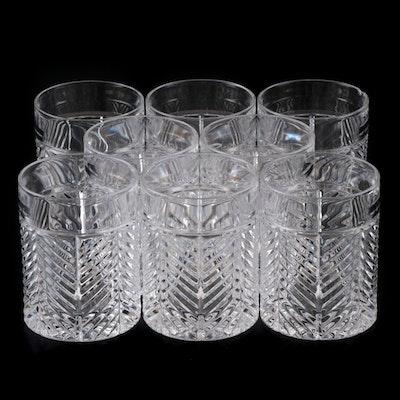 "Ralph Lauren ""Herringbone"" Old Fashioned Glasses, 1993 - 2002"