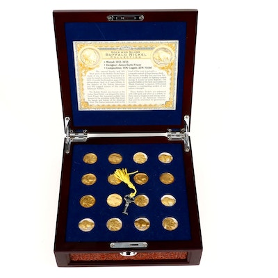 """""""Gold and Silver Buffalo Nickel Collection"""""""