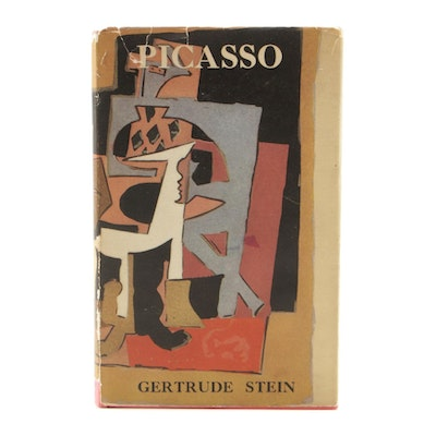 "First Edition ""Picasso"" by Gertrude Stein, 1939"