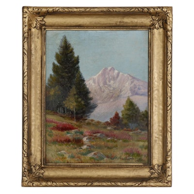 Richard Ernesti Landscape Oil Painting