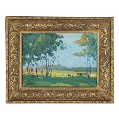 Peter Rotier Landscape Oil Painting