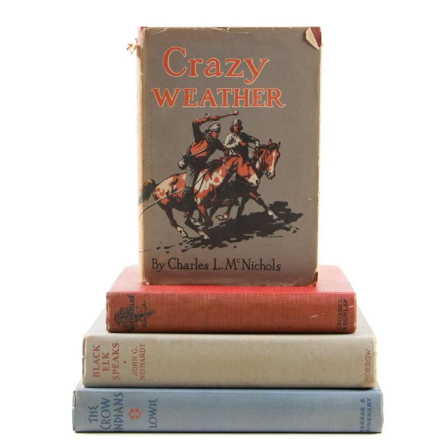 "Fiction and Nonfiction Including ""Black Elk Speaks"" by John G. Neihardt, 1932"