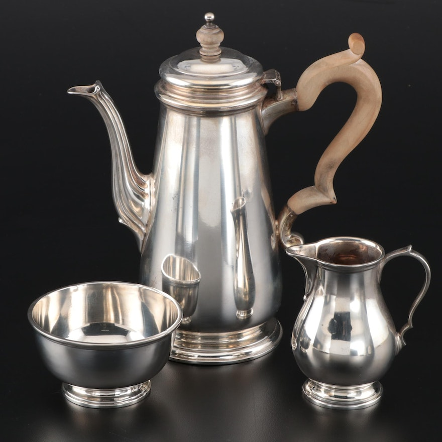 Tiffany & Co. Sterling Silver Coffee Service, 1956–1965