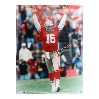 Joe Montana Signed Photo   COA