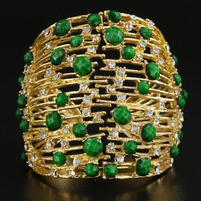 Amrita Singh Glass Cuff Bracelet