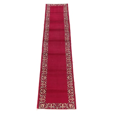 2'7 x 13'0 Hand-Knotted Persian Wool Carpet Runner