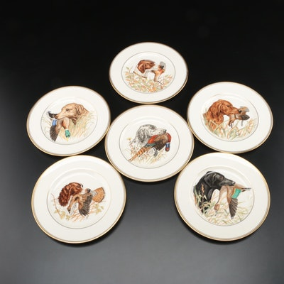 Abercrombie & Fitch N.Y. Porcelain Waterfowl Salad Plates