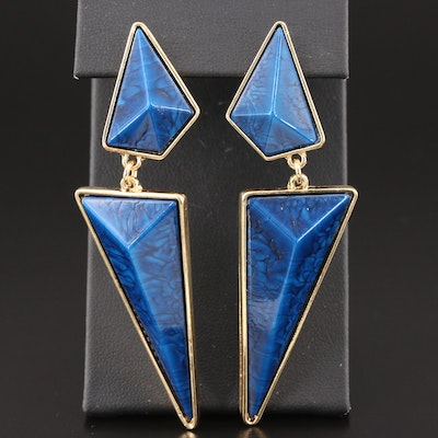 Amrita Singh Glass Dangle Earrings